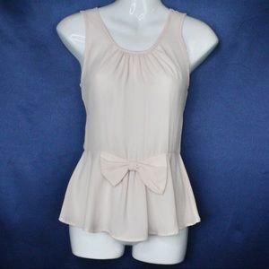 Baby Pink Bow Blouse